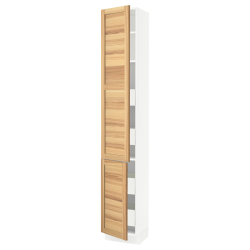 SEKTION/MAXIMERA High cb w 2 doors/shelves/4 drawers