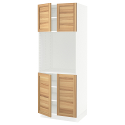 SEKTION High cabinet for oven w 4 doors