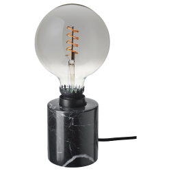 MARKFROST/ROLLSBO Pie lámpara mesa+bomb