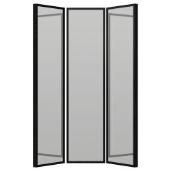 STAVE Espejo,  negro-marrón