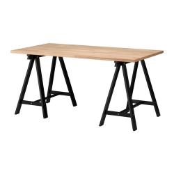 GERTON/ODDVALD Mesa de escritorio 155x75 cm