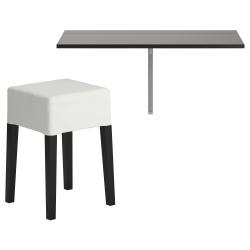 BJURSTA Mesa+taburete