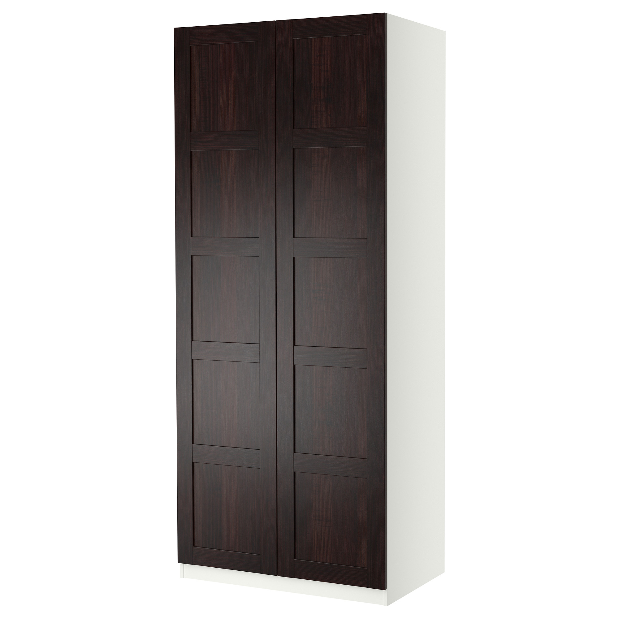 pax wardrobe with 2 doors. Black Bedroom Furniture Sets. Home Design Ideas