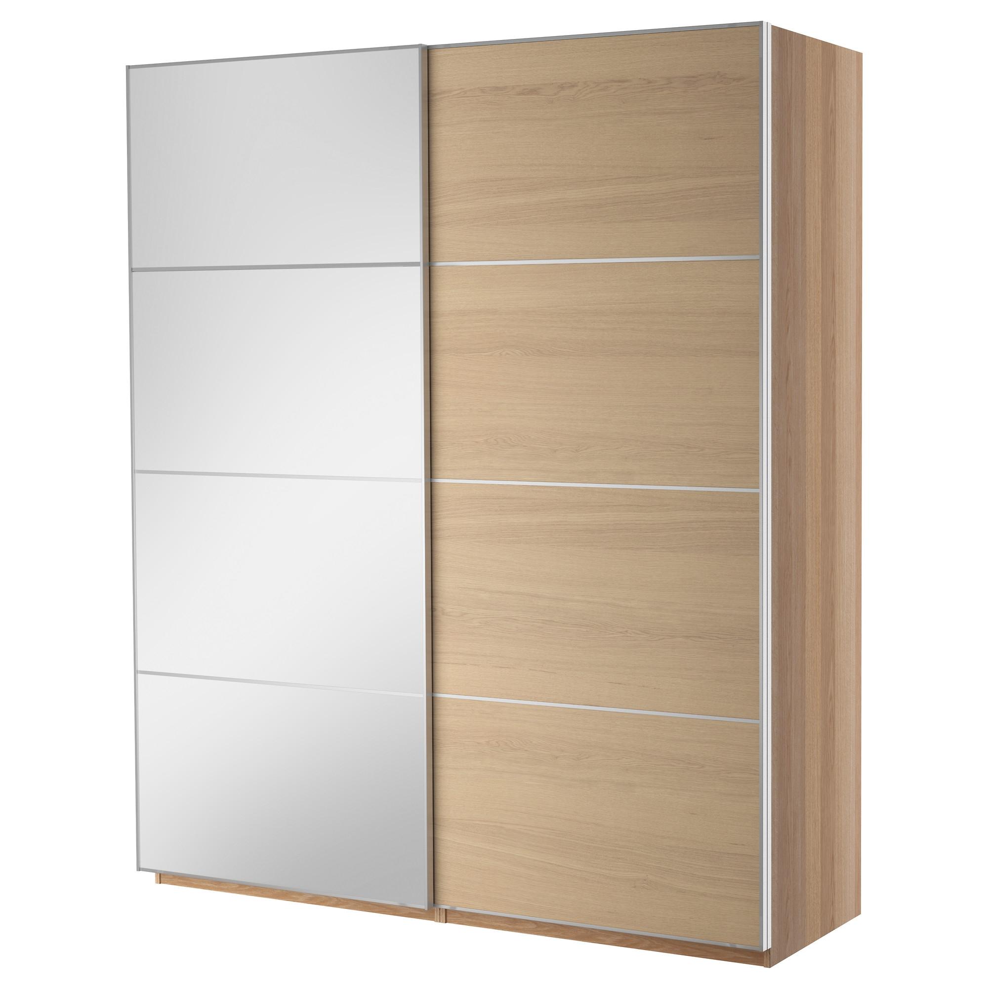Pax wardrobe with sliding doors - Apliques exterior ikea ...