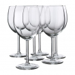 SVALKA Juego de 6 copas de vino tinto, vidrio, 30cl
