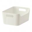 VARIERA Caja, plástico blanco