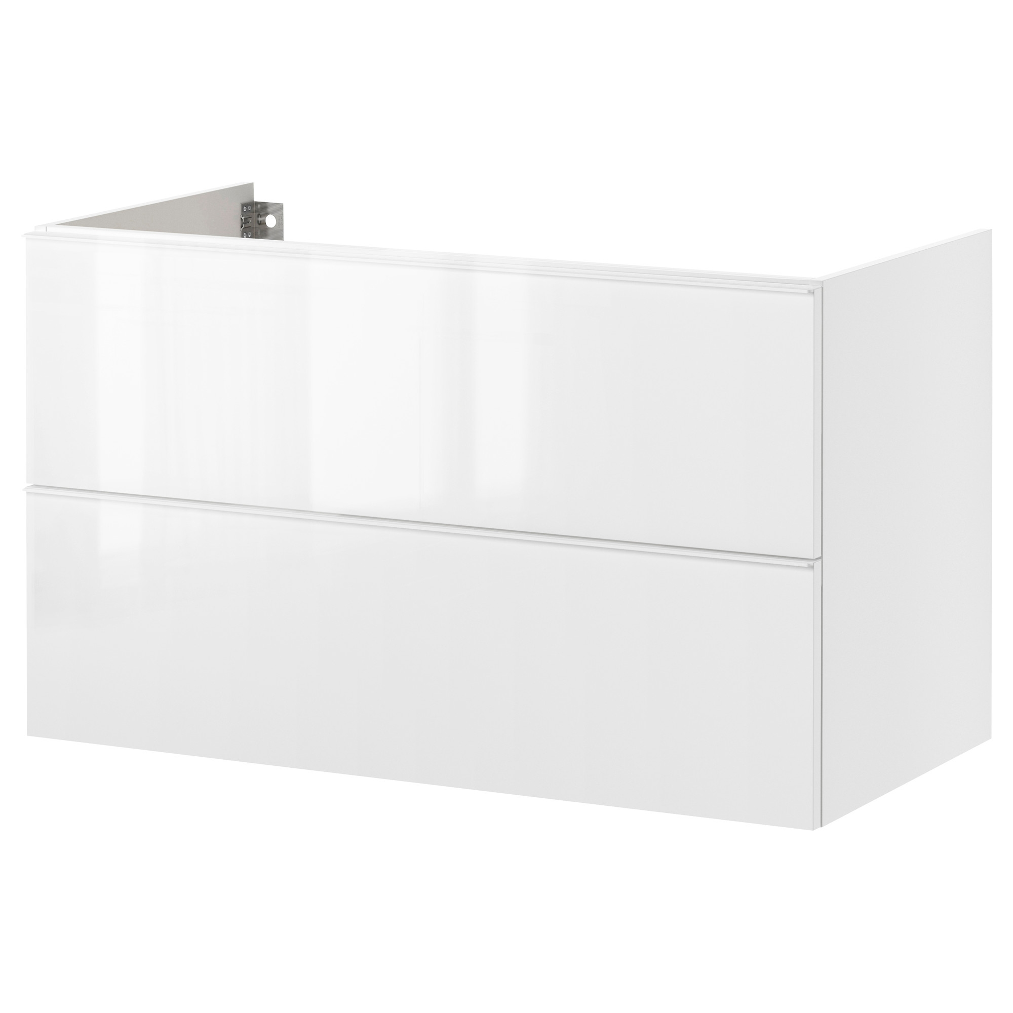godmorgon armario lavabo 2 cajones 80 blanco. Black Bedroom Furniture Sets. Home Design Ideas