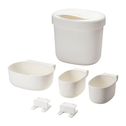 ÖNSKLIG Stor baskets changing tbl set of 4