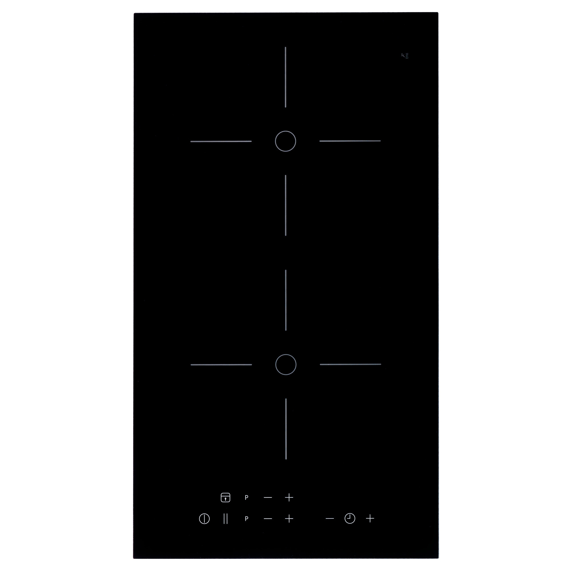 m jlig domino induction hob with booster. Black Bedroom Furniture Sets. Home Design Ideas
