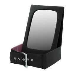 BETRAKTA Espejo de mesa+contenedor