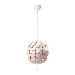 IKEA PS 2014 Lámpara de techo Ø 35cm blanco/naranja