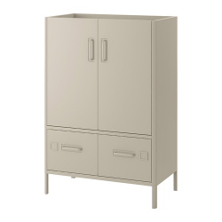 IDÅSEN Cabinet with doors and drawers