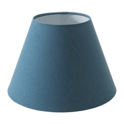 OLLSTA Pantalla para lámpara azul 27 cm
