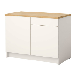 KNOXHULT base cabinet with doors and drawer
