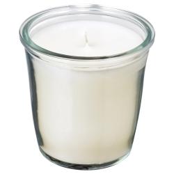 SMÅTREVLIG Vela perfumada en vidrio