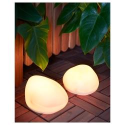 SOLVINDEN Lámp pie solar/eólica LED