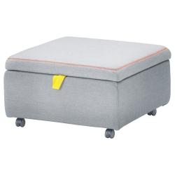 SLÄKT Módulo de asiento+almacenaje