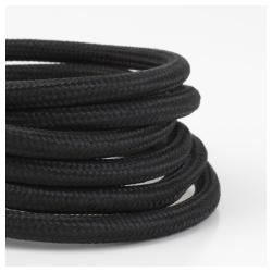 SEKOND Cable para lámpara de techo negro E27