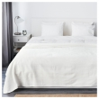 INDIRA Colcha para cama doble 230x250 cm blanco