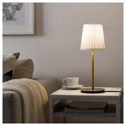 SKAFTET Pie para lámpara de mesa bronce E14