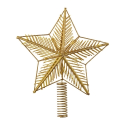 VINTER 2018 Estrella punta árbol navideño