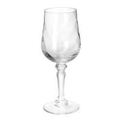 KONUNGSLIG Copa de vino, vidrio con relieve, 33cl