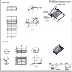 1 x SMEDSBYN Sofa-bed mechanism