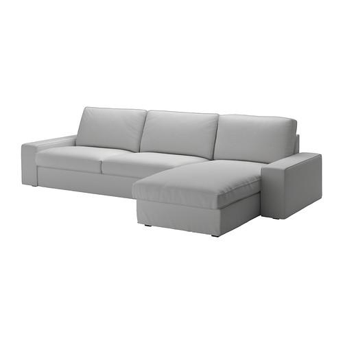 Fabulous Kivik Four Seat Sofa W Chaise Longue Orrsta Light Grey Download Free Architecture Designs Xaembritishbridgeorg