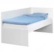 FLAXA Estructura cama con cabecero + somier lám