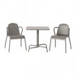 TUNHOLMEN Mesa+2 sillas, exterior