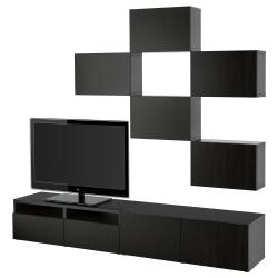 BESTÅ Combinación de almacenaje para TV