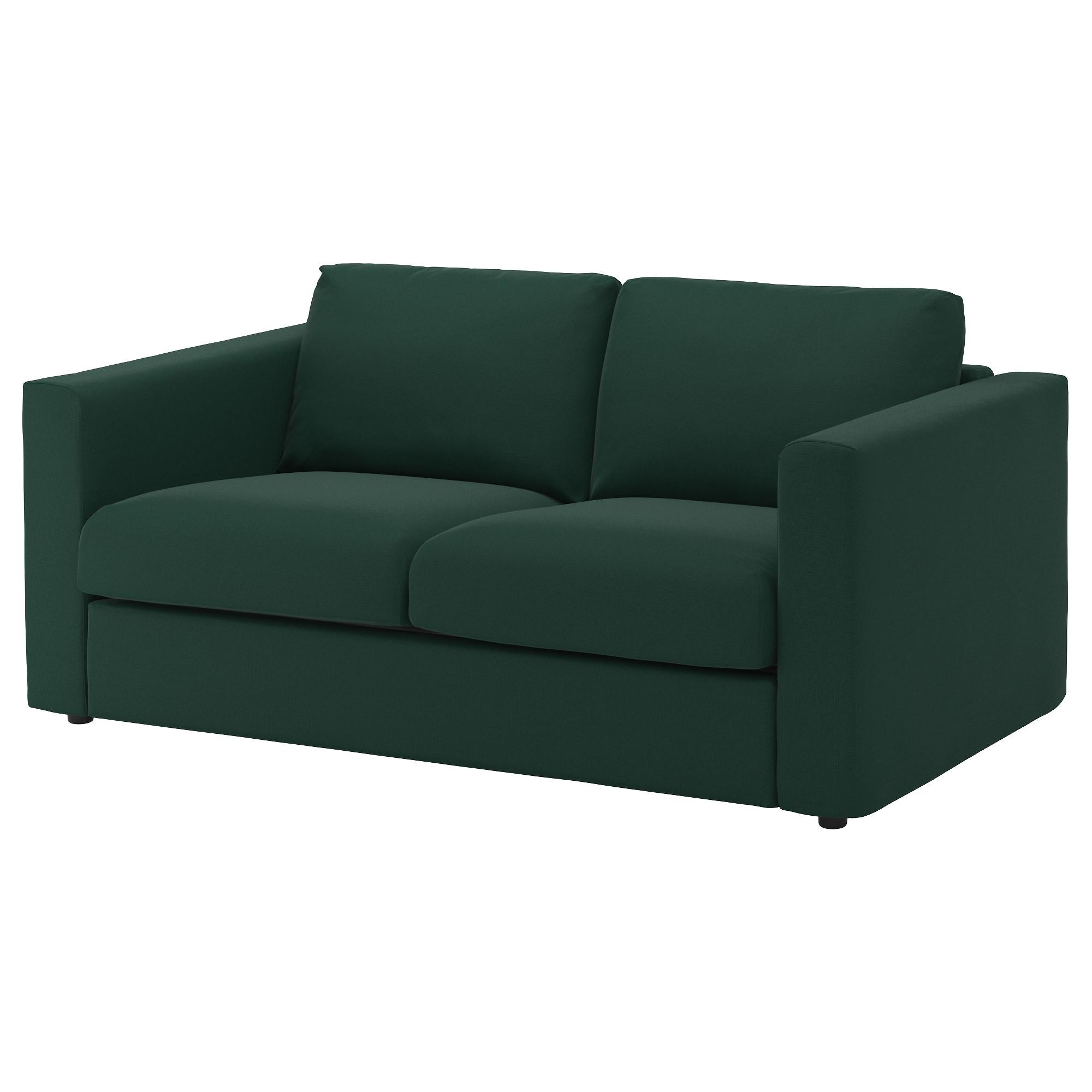 Vimle 2 Seat Sofa Gunnared Dark Green