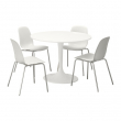 DOCKSTA/LEIFARNE Table and 4 chairs