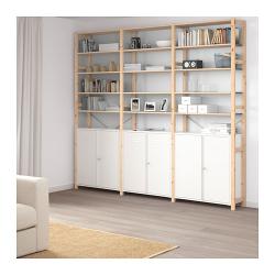 IVAR 3 secciones/armario/estantes