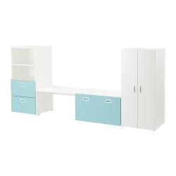 STUVA/FRITIDS Combinación de armario y estantería