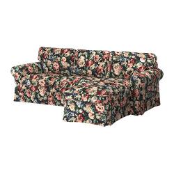EKTORP Sofá 3 plazas con diván