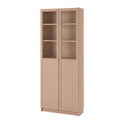 BILLY Librería +puerta panel/vdr