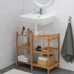 RÅGRUND/TYNGEN Wash-basin base cabinet w 2 doors