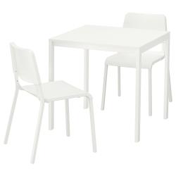 MELLTORP/TEODORES Mesa y dos sillas