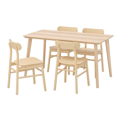 Super Lisabo Ronninge Table And 4 Chairs Download Free Architecture Designs Scobabritishbridgeorg