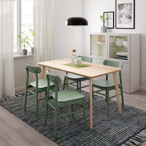 LISABORÖNNINGE mesa con 4 sillas