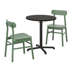 STENSELE/RÖNNINGE Mesa y 2 sillas