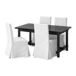 NORDVIKEN/HENRIKSDAL Mesa con 4 sillas