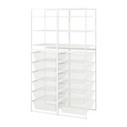 JONAXEL Estructura organización 99x51x173 cm con cestos y estantes