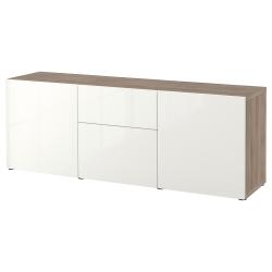 BESTÅ Combinación almacenaje+gavetas