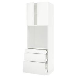 SEKTION/MAXIMERA High cab f oven w 3 drawers/2 doors