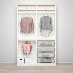 PAX/HASVIK Combinación armario