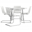 SALMI Mesa con 4 sillas
