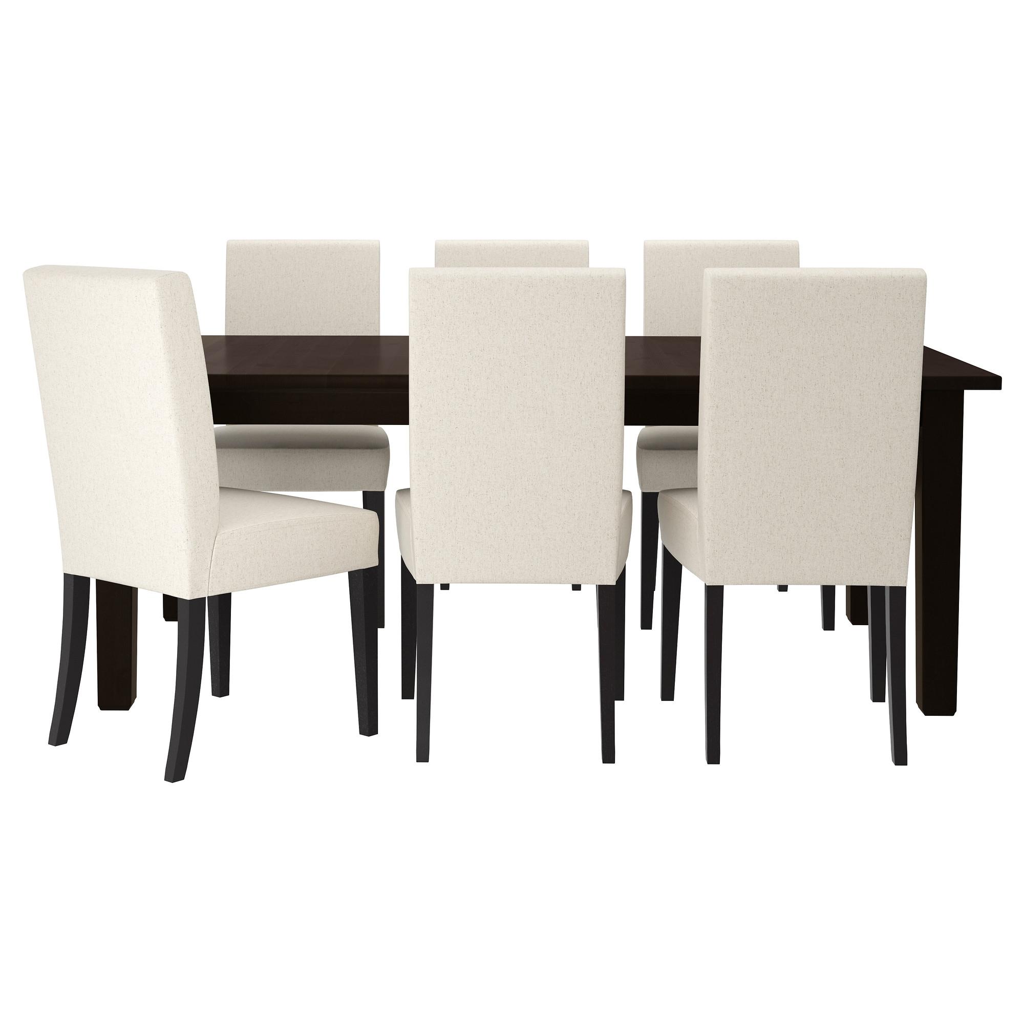Storn s mesa con 6 sillas for Sillas de comedor ikea