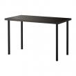 LINNMON/ADILS Mesa de escritorio 120x60 cm negro-marrón